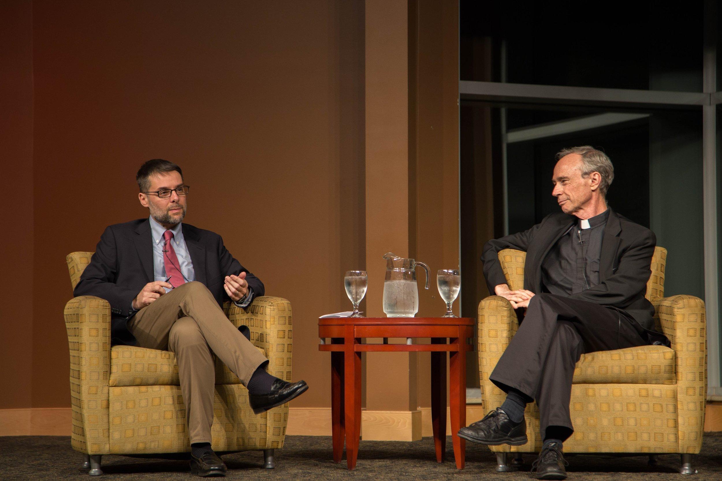 Dr. Massimo Faggioli & Fr. Thomas Reese, SJ
