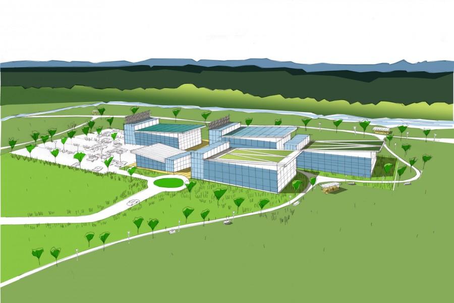 School campus concept