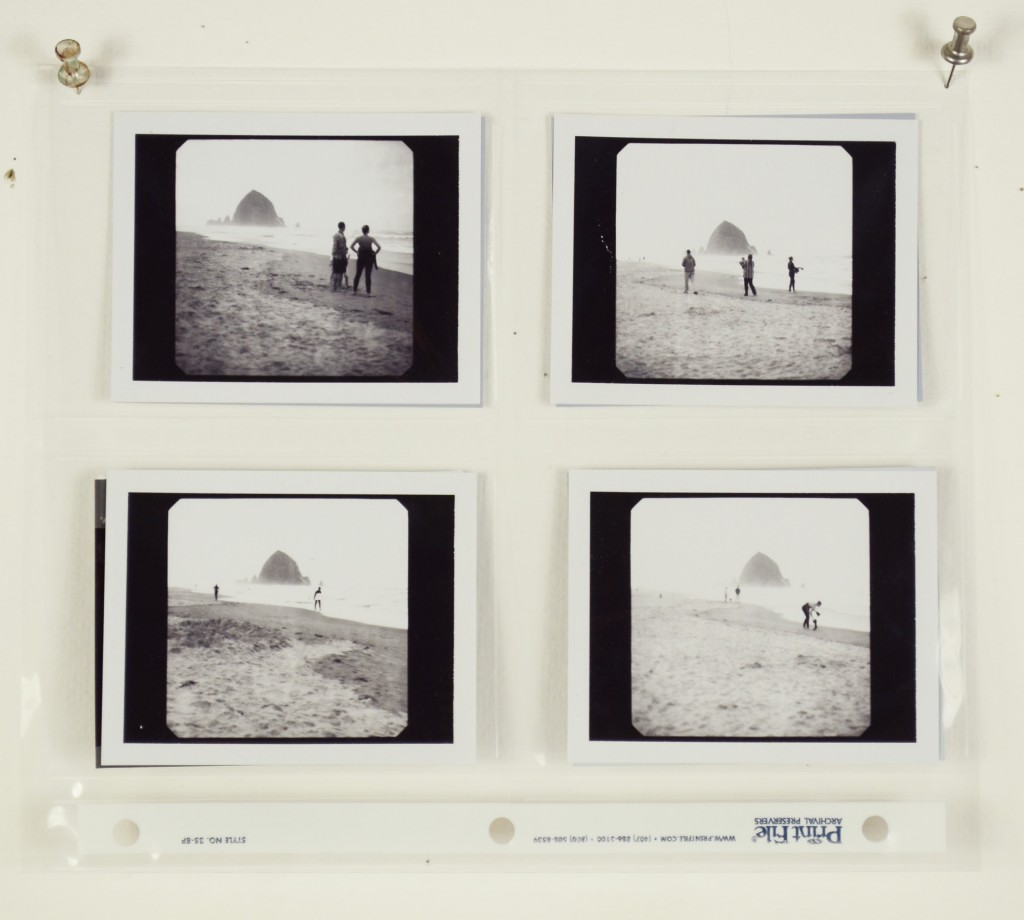 Canon Beach B and W Instant Film