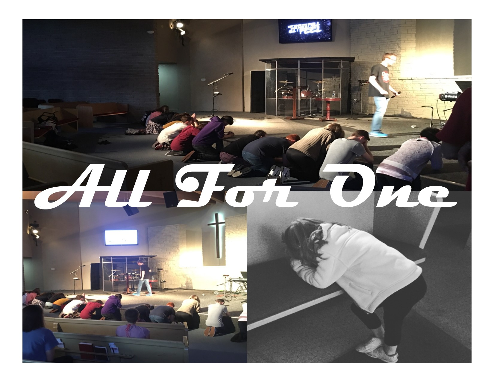 #allforone - All for Jesus and all for the each student.