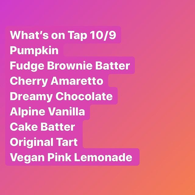 What's on tap #milwaukee 🍦