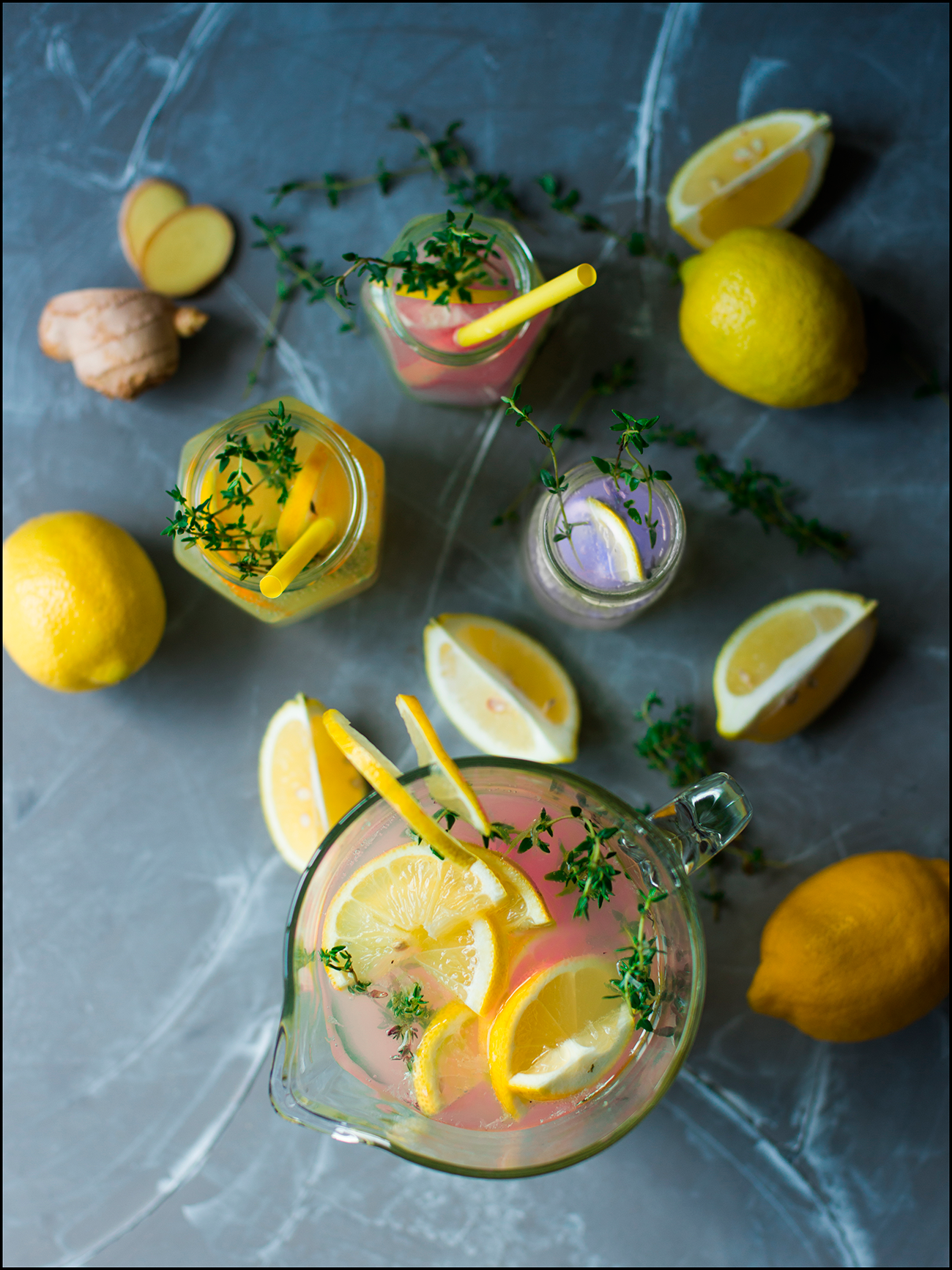 Perky Moose lemonades