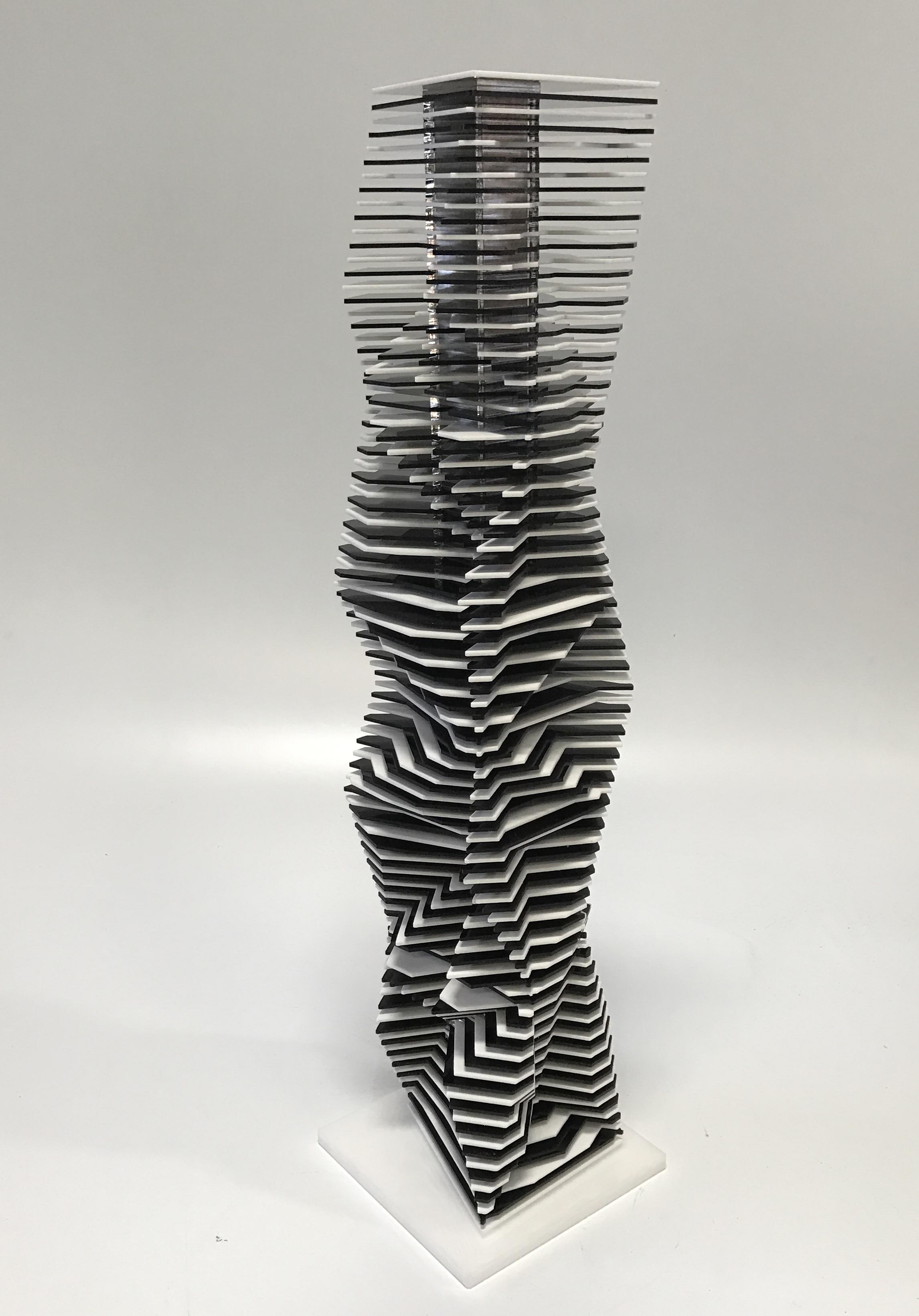 """ZAHA 32 , 2017,8 x8 x 32"""", acrylic Sheets, Aluminum core.jpg"""