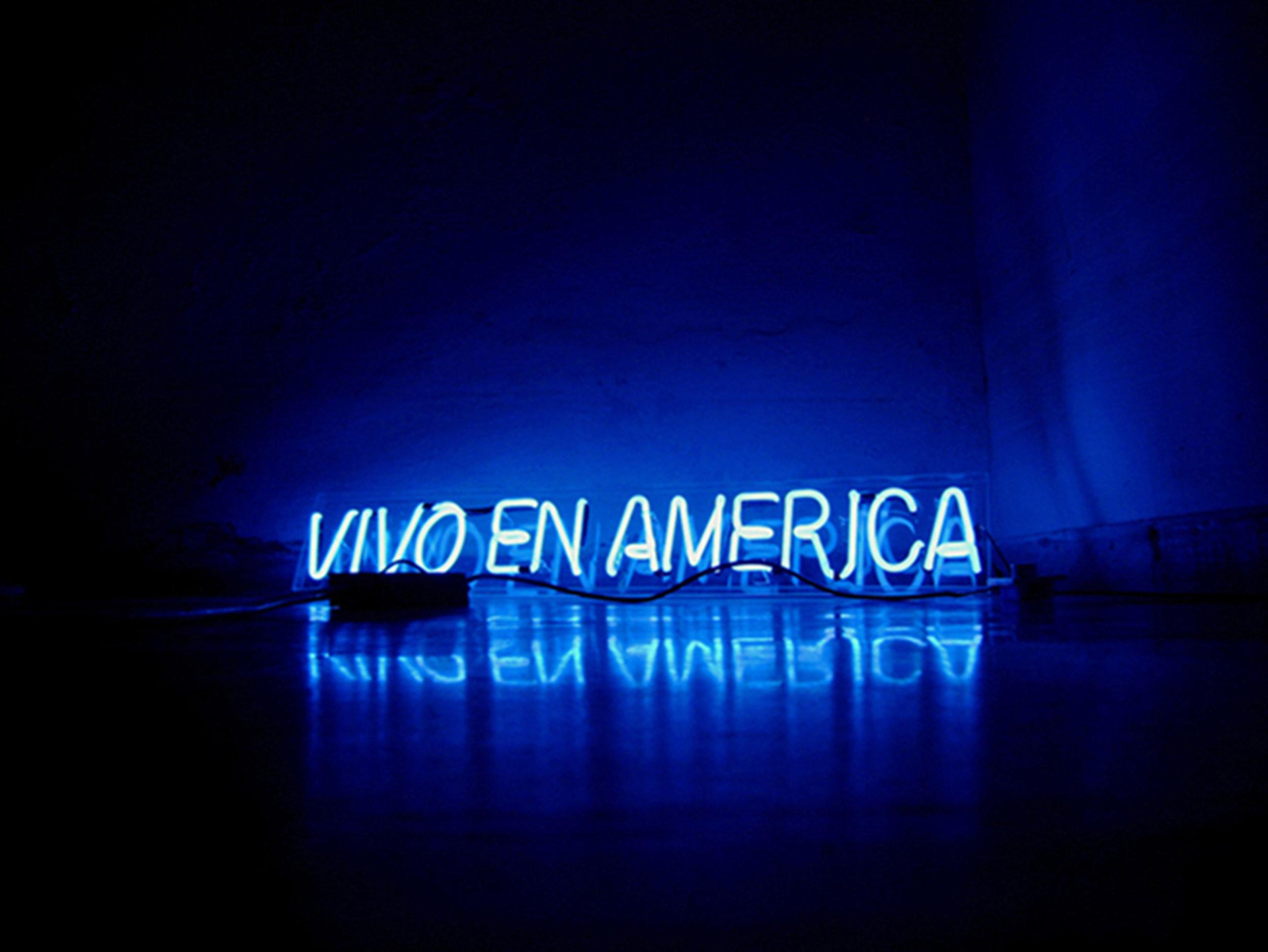 Karlo Abdre Ibarra.Continental, 2007-present. Neón sign powered by solar light .jpg