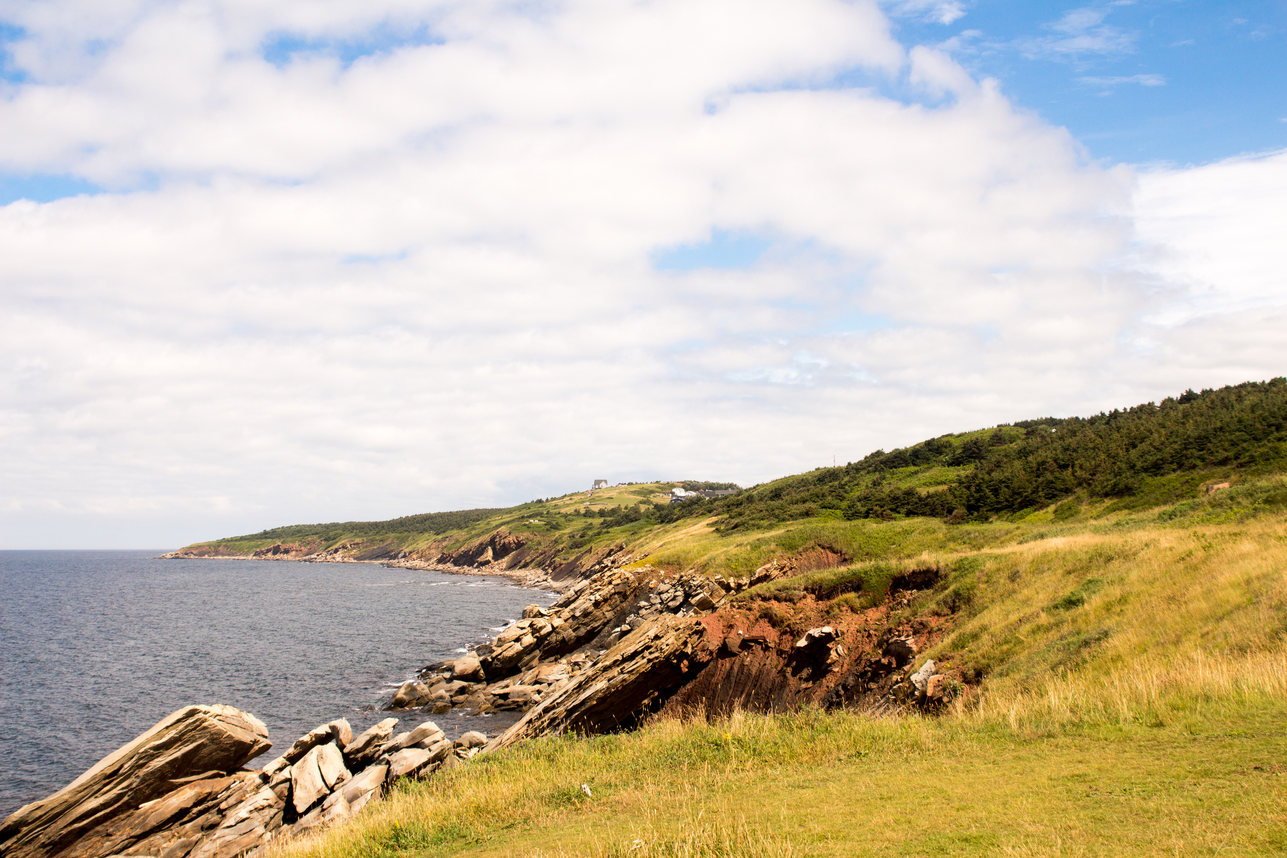 The Cabot Trail. Cape Breton.