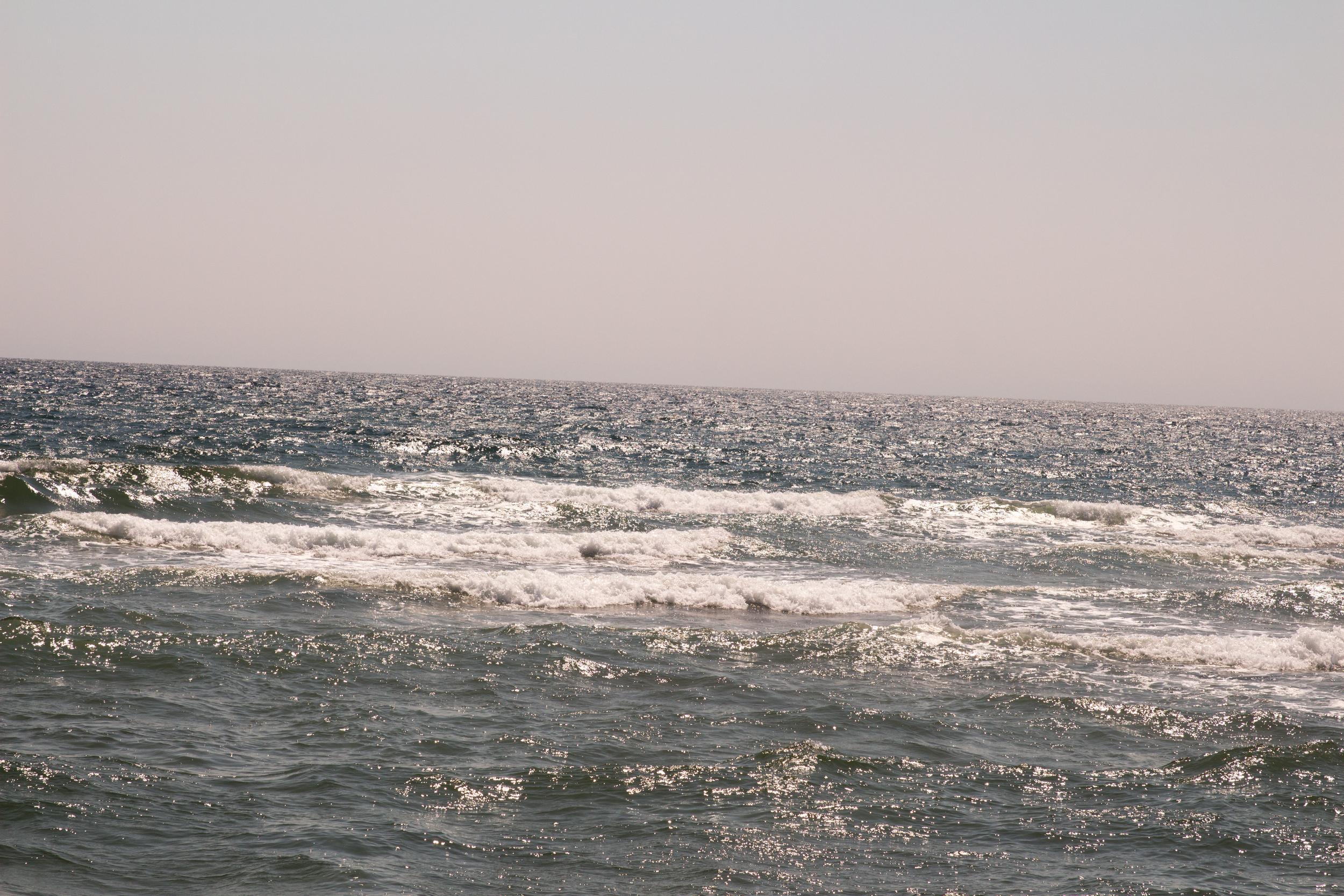 Atlantic Ocean from Basin Head, PEI.