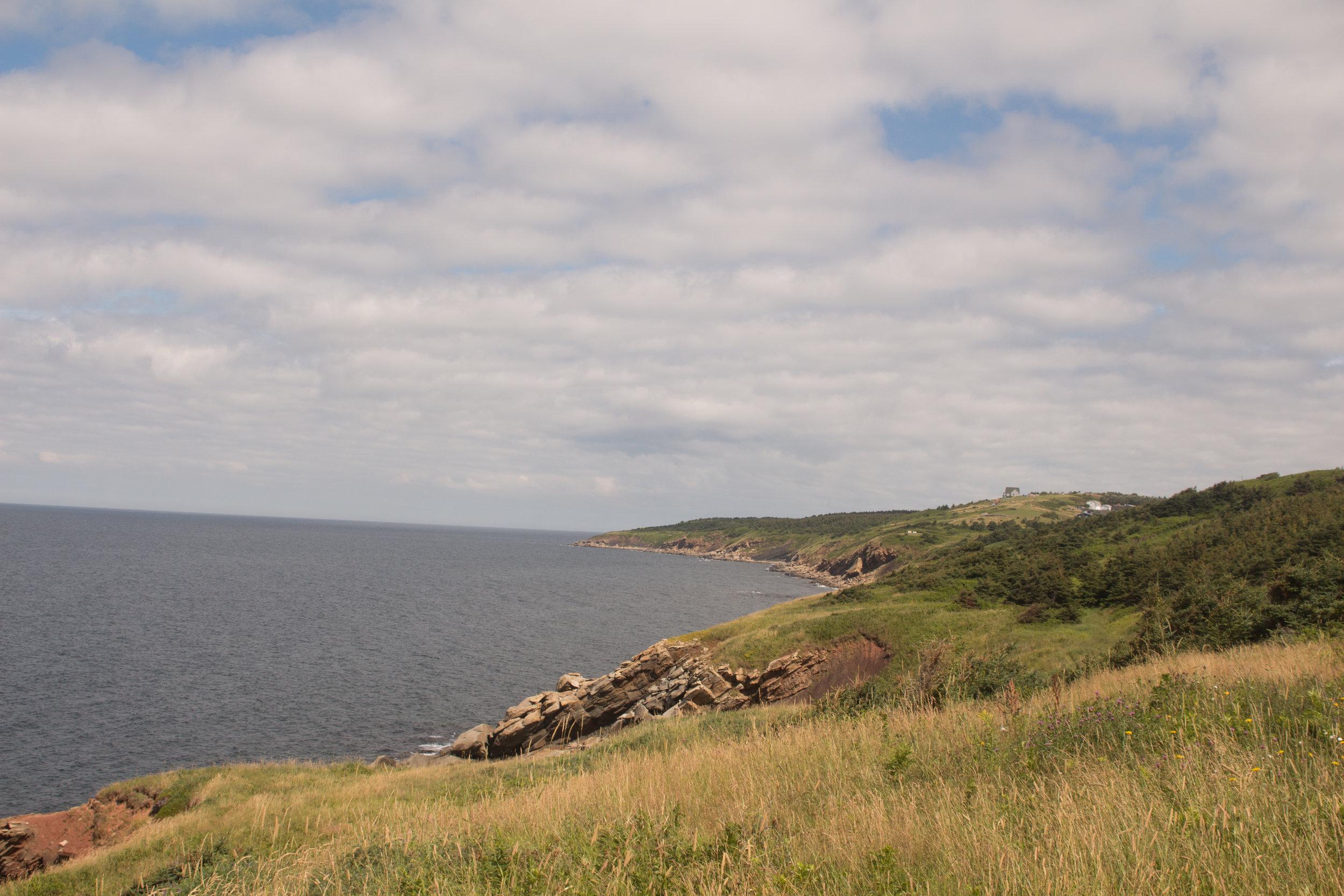 Cabot Train in Campe Breton Nova Scotia