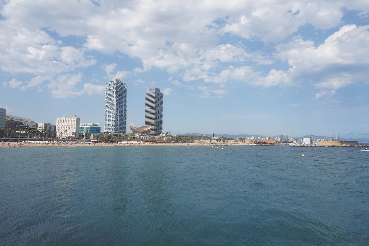 Barcelona Shoreline