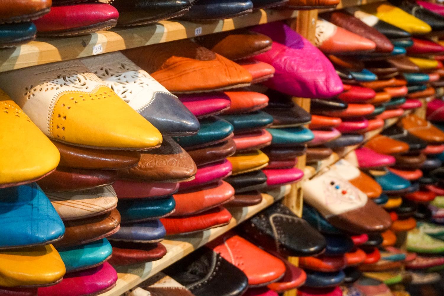 Exploring some Moroccoan shops