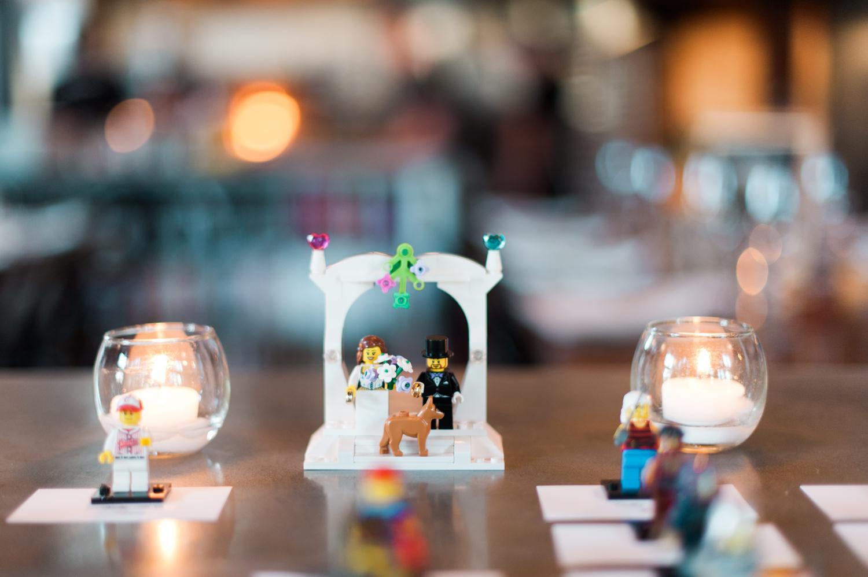 Chanel and Marshall's wedding reception at PLAZA DEL TORO