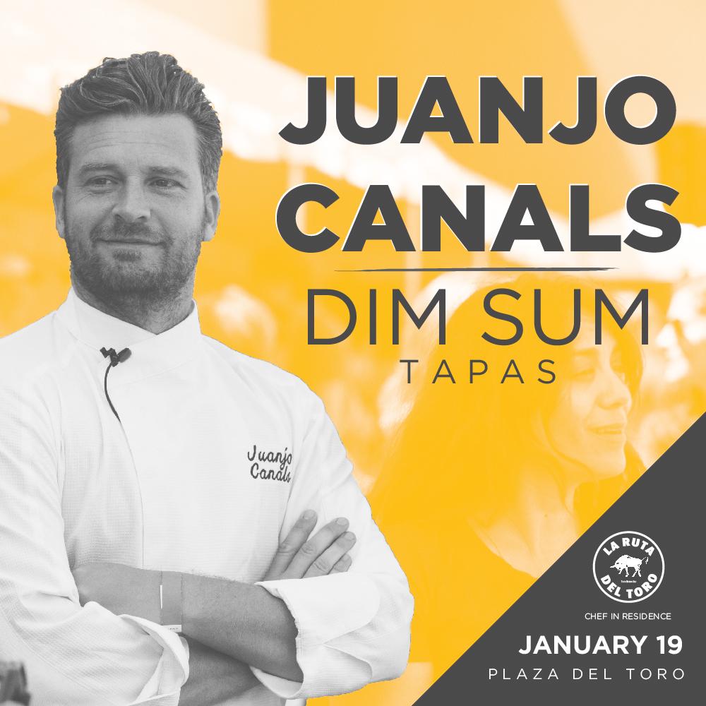 Juanjo Canal Dim Sum Tapas PLAZA DEL TORO
