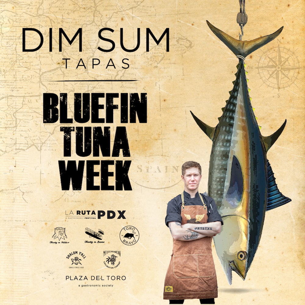 Bluefin Tuna Week DIM SUM TAPAS