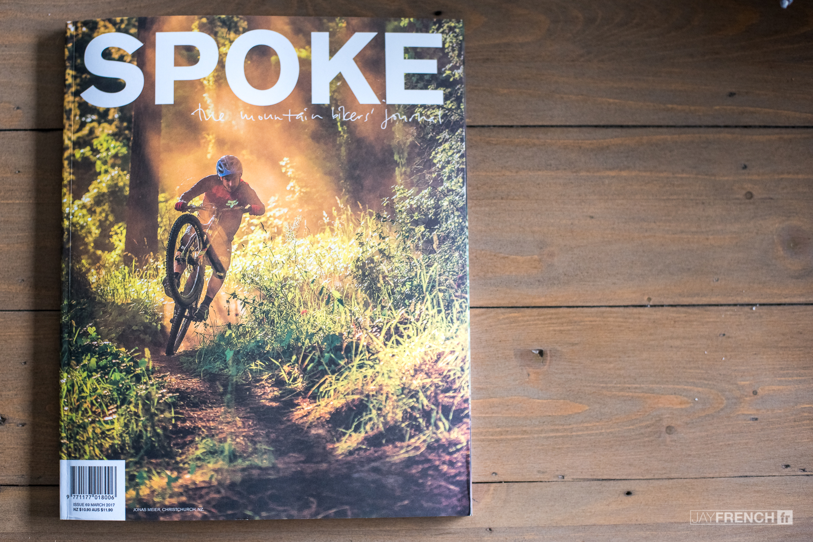 SPOKE MAGAZINE - Gallery images and a four page one on one interview with Sam Blenkinsop.