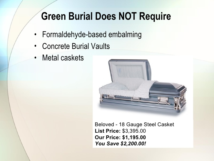 Green Burial Benifets
