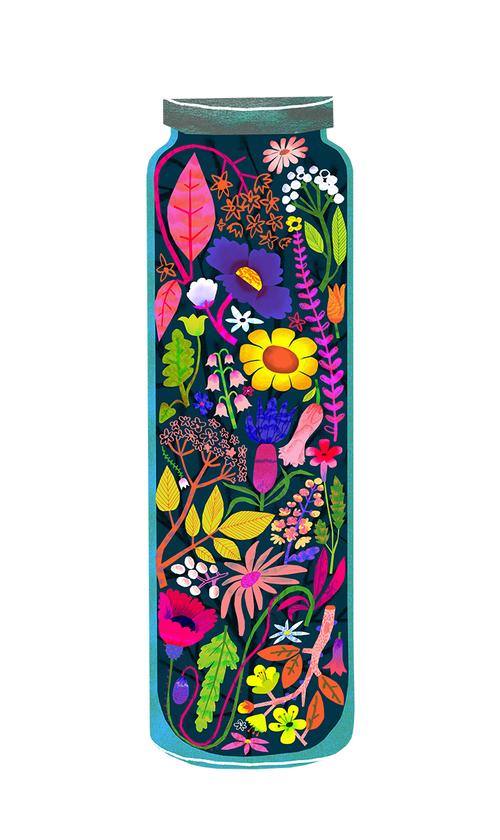 Flower Jar by Natasha Durley