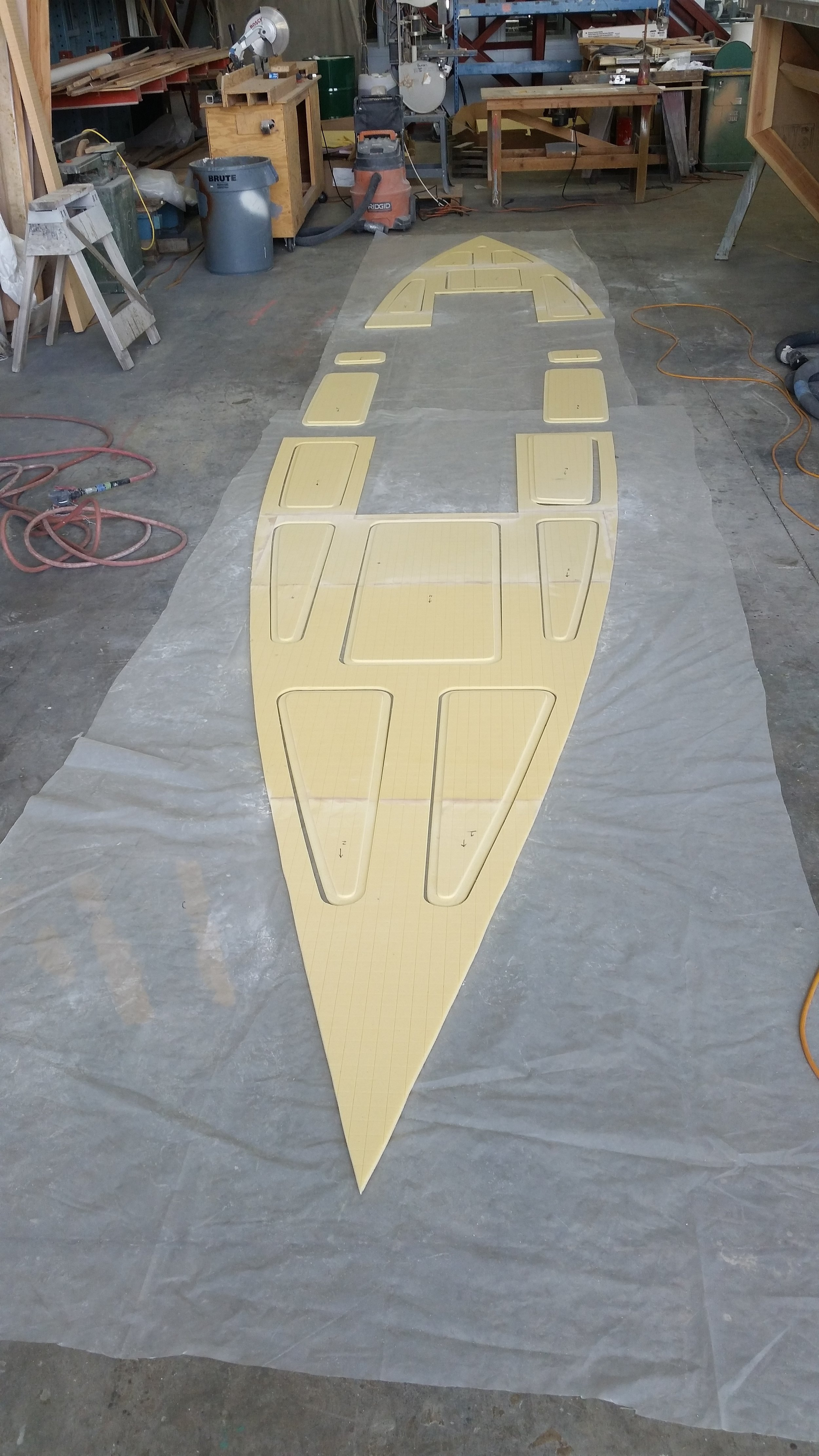 Interior Deck