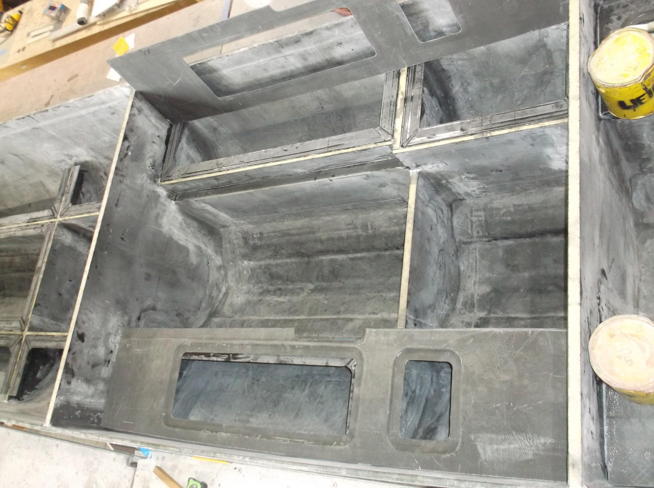 Interior Deck Preparation