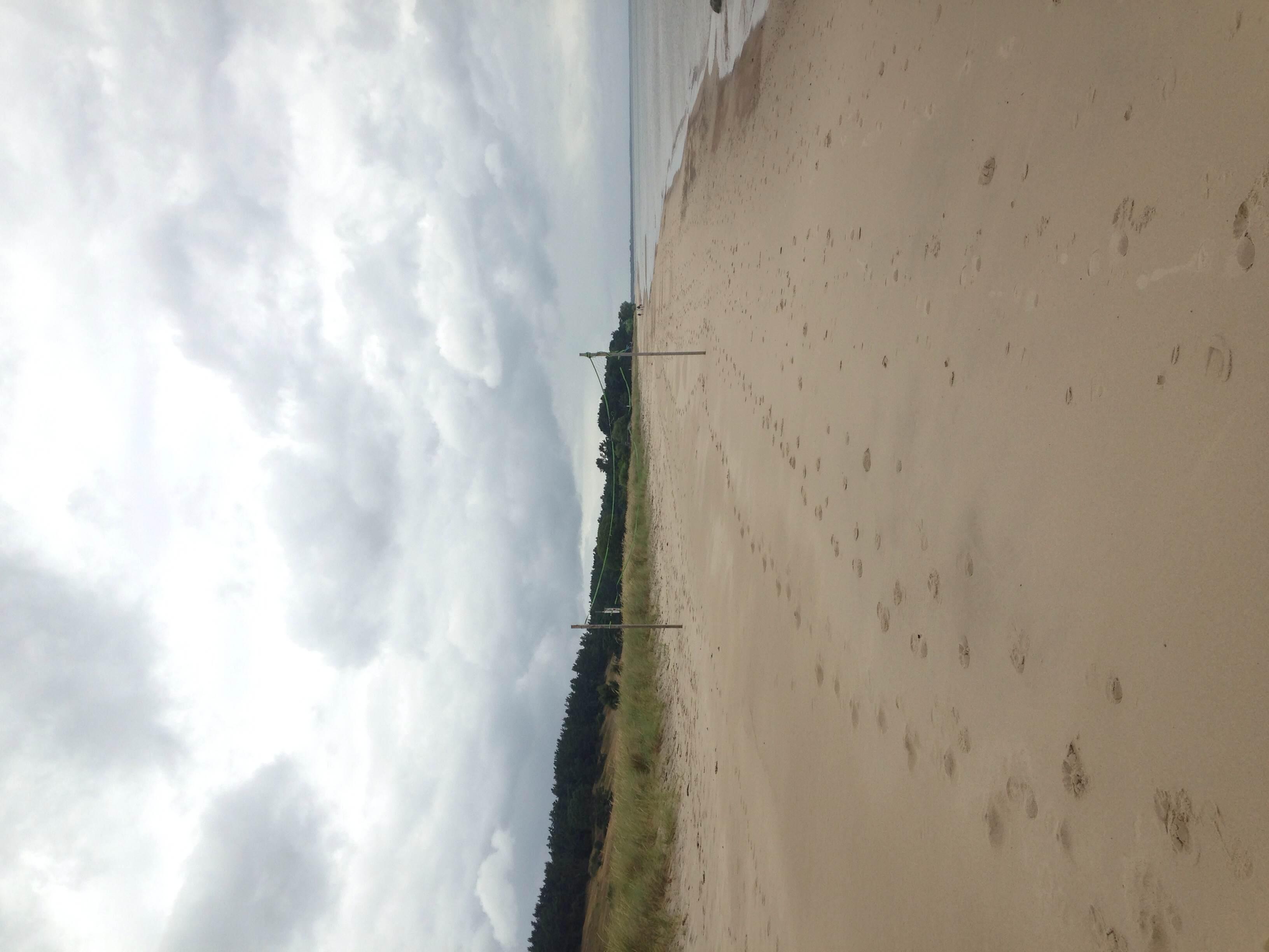 The beach at Vitemölla