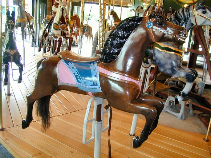 Ferry County Fair Carousel  - This restored pre-1900 carousel is one of only 200 operational carousels in the U.S.  This carousel is open to the public during public events, such as the Ferry County Fair.