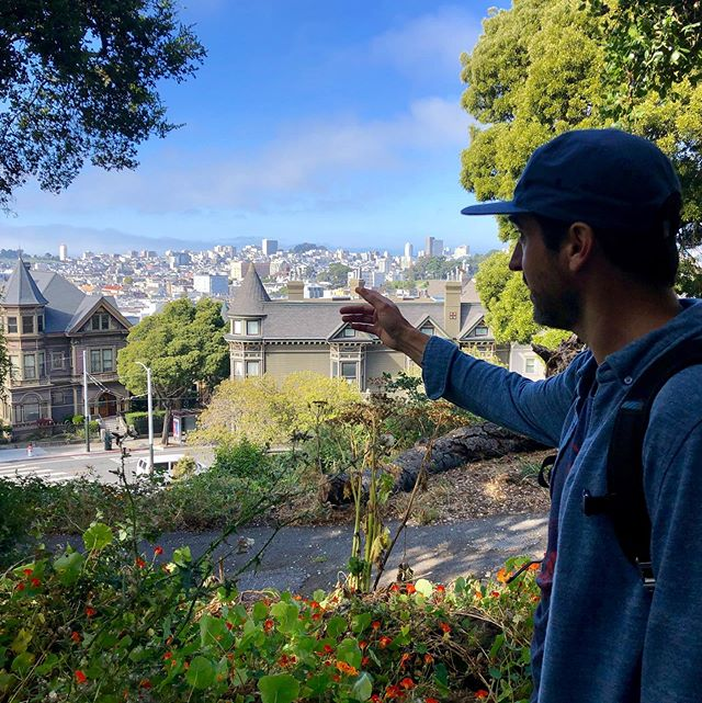 "Join us on Sundays for our Haight-Ashbury ""Celebrate the Haight"" beer tour.  We visit 3 different local breweries, get to sample over 12 different beers, and tour this beautiful historic neighborhood. All of this in 4 hours!  This picture was taken at Buena Vista park. Did you know this park and many other parks in SF were former graveyards?? 👻👻👻 . . . . . #instagood #photooftheday #beer #sanfrancisco #craftbeer #sf #bayarea #beerporn #instabeer #picoftheday #fun #brewery #415 #SanfranciscoBay #OnlyInSF #sfblogger #ILoveSF #sflife #sflove #SanFranciscoBayArea #sfstreetart #SFBound #sfbeer #sfbeerweek #sflocal"