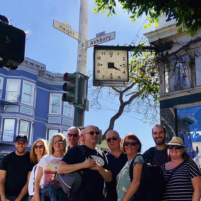 Did you know this famous clock on the iconic Haight-Ashbury intersection is stuck at a very particular time of day? Can you tell what time it is?? 🍁 . Come and join us for a great Sunday funday beer tour and we'll tell you many more interesting facts about this historic and groovy neighborhood!🍻 . . . . . #instagood #photooftheday #beer #sanfrancisco #craftbeer #sf #bayarea #beerporn #instabeer #picoftheday #fun #brewery #415 #SanfranciscoBay #OnlyInSF #sfblogger #ILoveSF #sflife #sflove #SanFranciscoBayArea #sfstreetart #SFBound #sfbeer #sfbeerweek #sflocal #sundayfunday #summeroflove #gratefuldead