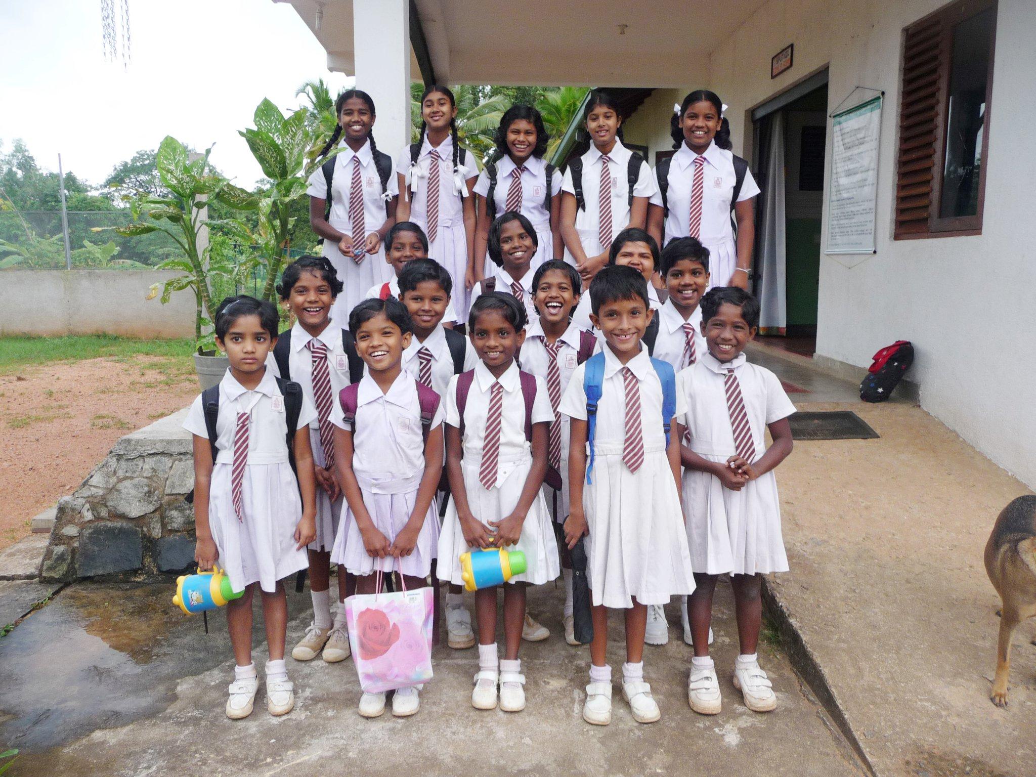 SPUTNIK Girls Home, Sri Lanka.