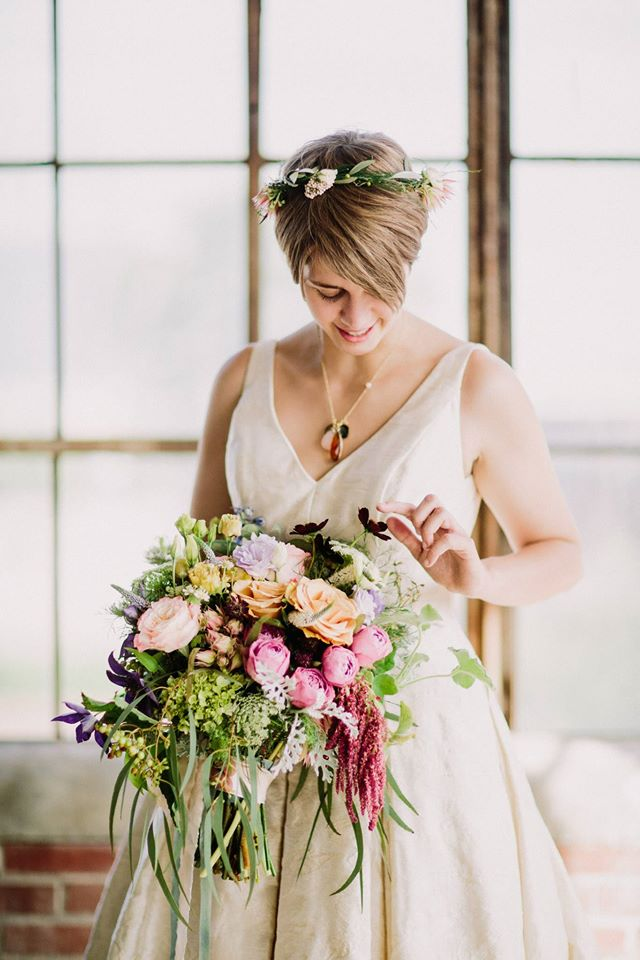 Bowerbird Flowers Chapel Hill florist Durham North Carolina weddings