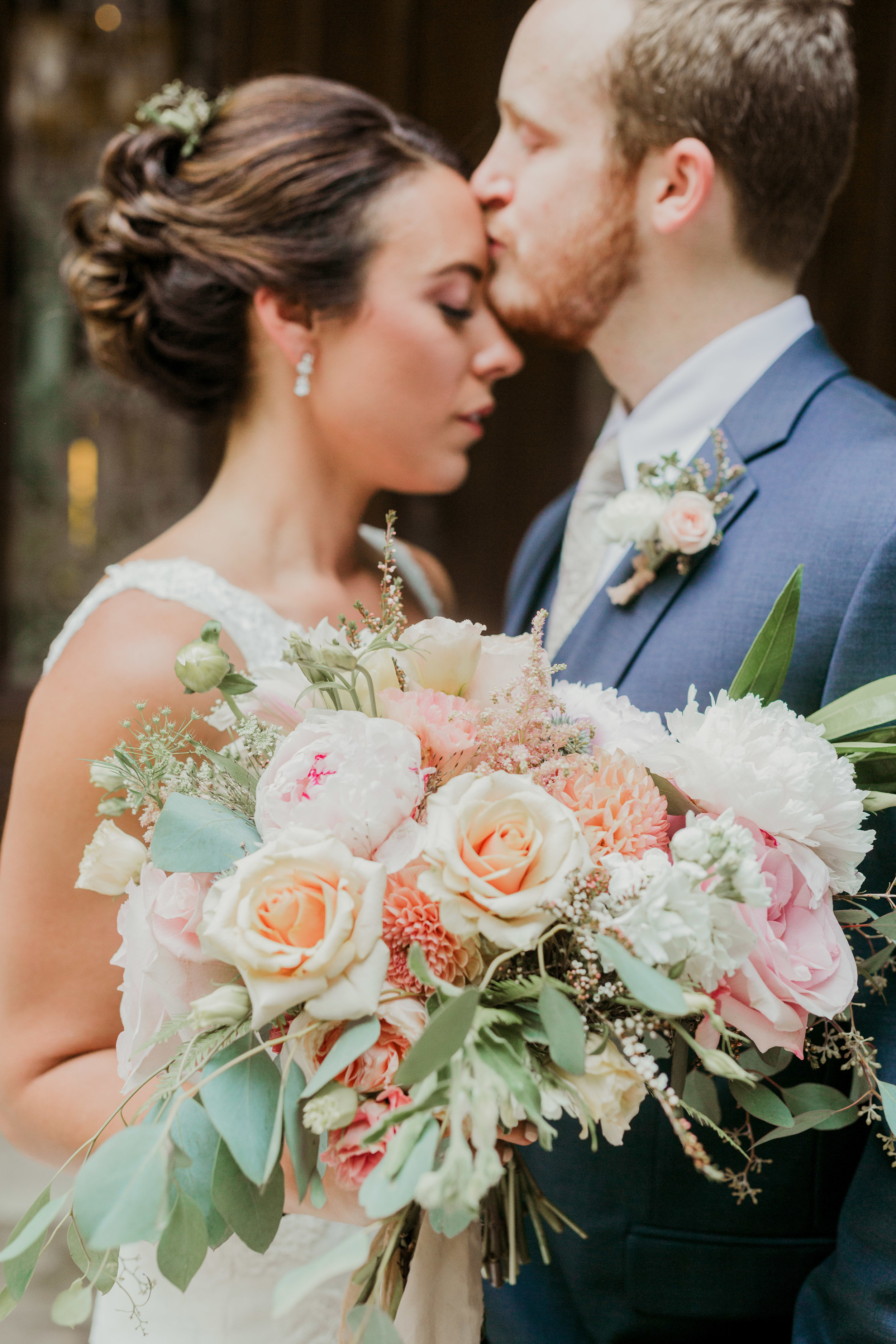 Bowerbird Flowers - Alysia and Jayson Photography - summer wedding - bouquet