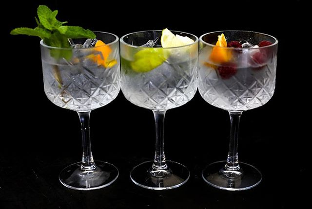 Now they are gin goblets #newgingoblets #ginglassware #bar #horatiotodds #ballyhackamore #ginmenu #ginandtonic #gnt #cocktailbar