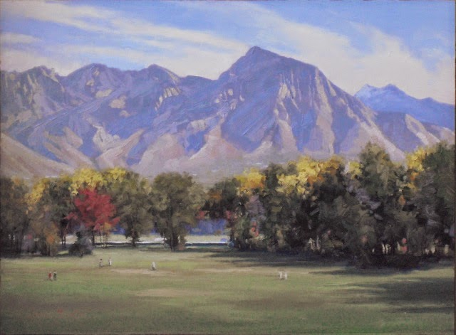 Mount Oly from Sugarhouse Park - (SOLD)