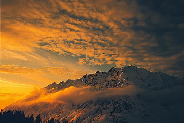 Superior Peak Sunset