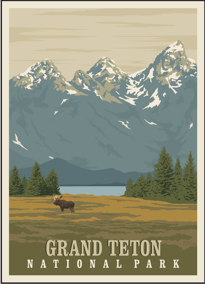 National Parks Prints Evergreen Framing Co Gallery