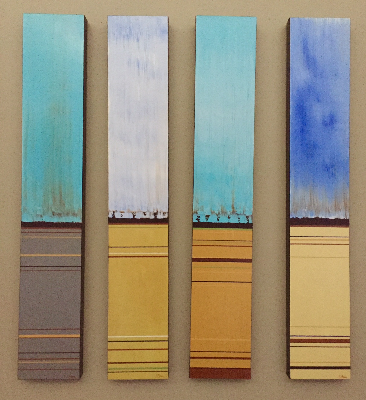 Tall Sky Series (SOLD)