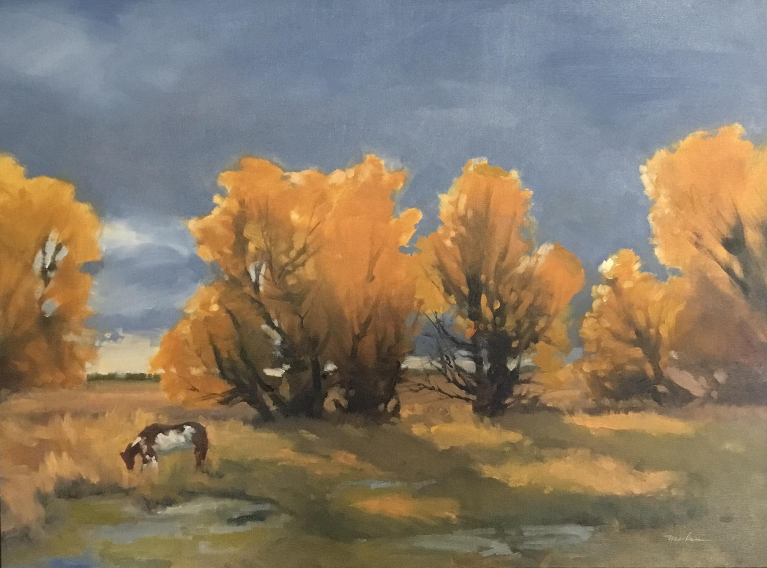 Iridescent Trees