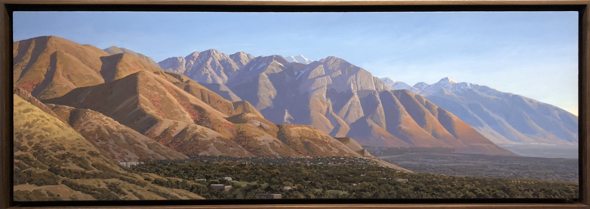 Fall Wasatch Front (SOLD) COMMISSION