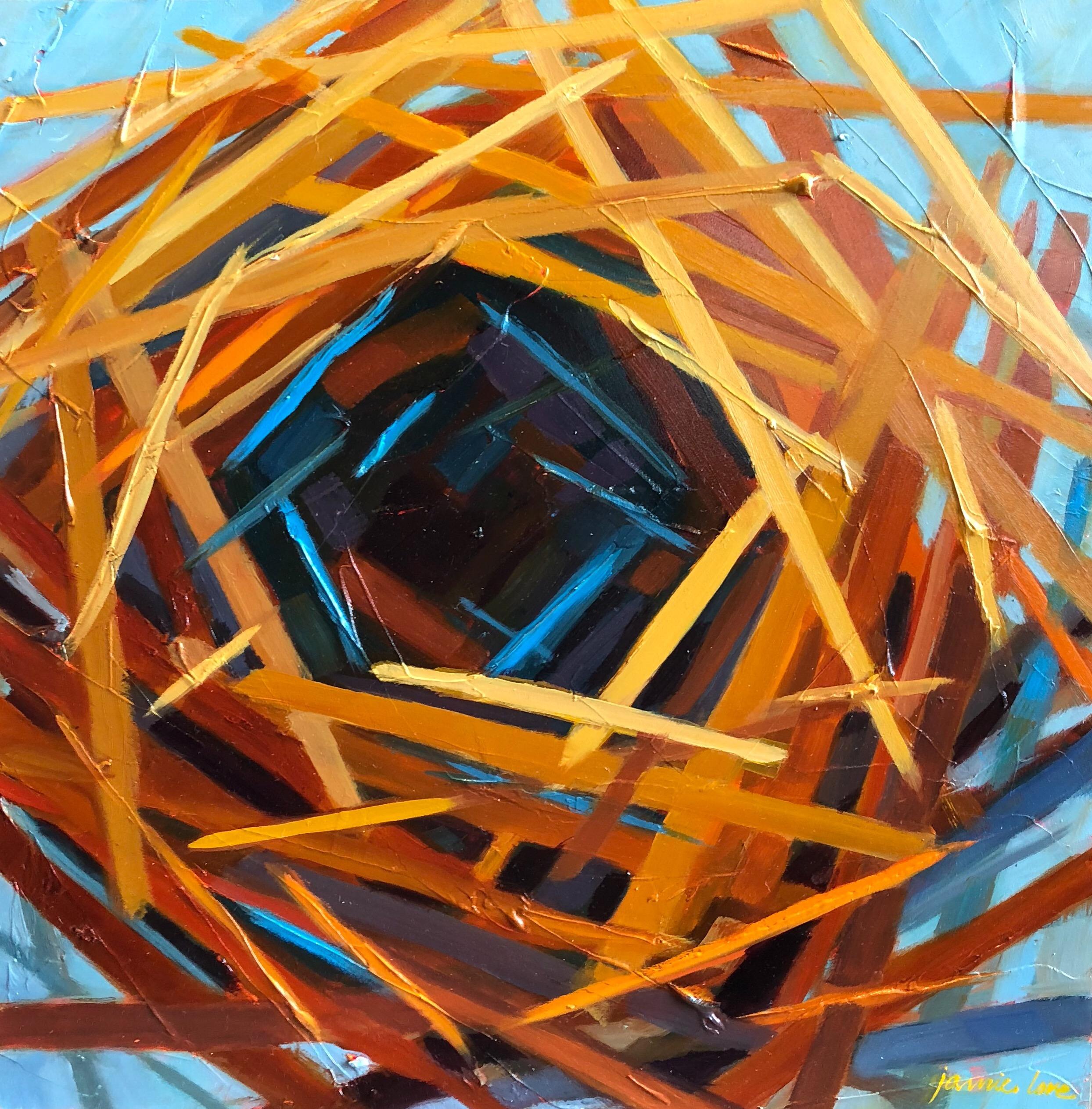 Abstract Empty Nest