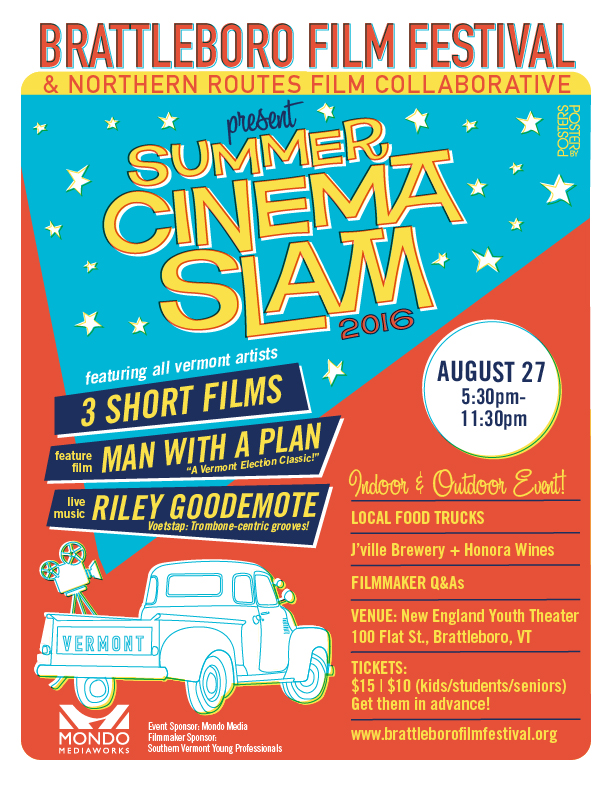 Summer Cinema Slam Poster