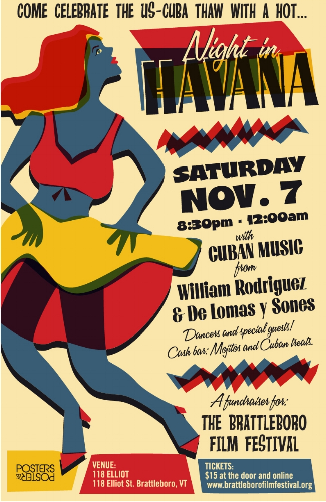 Night in Havana Poster