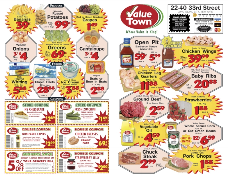 Value town Coupons