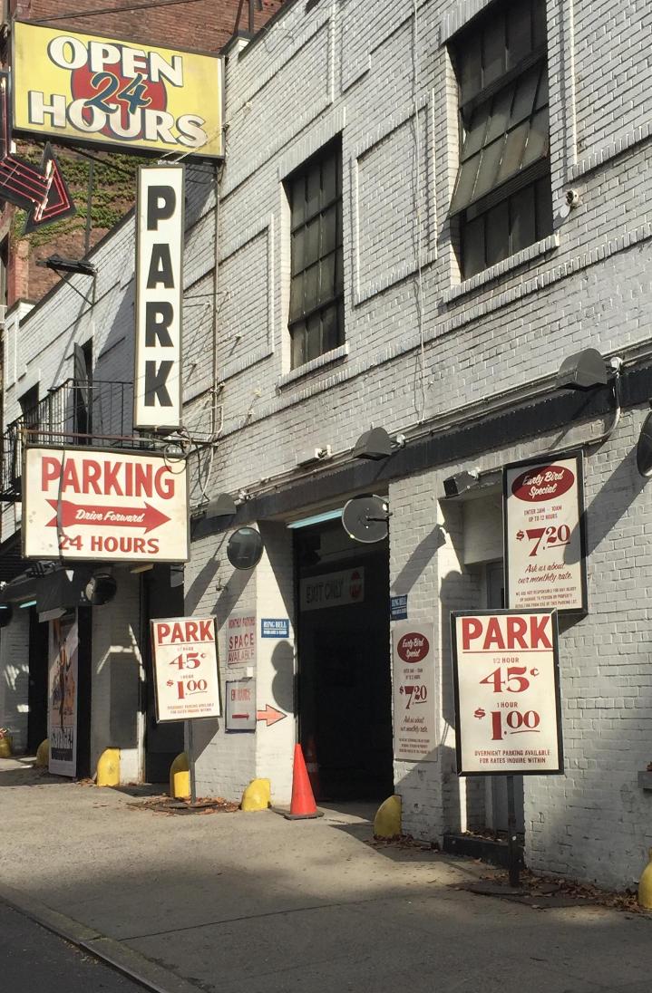 Parking Garage Signage