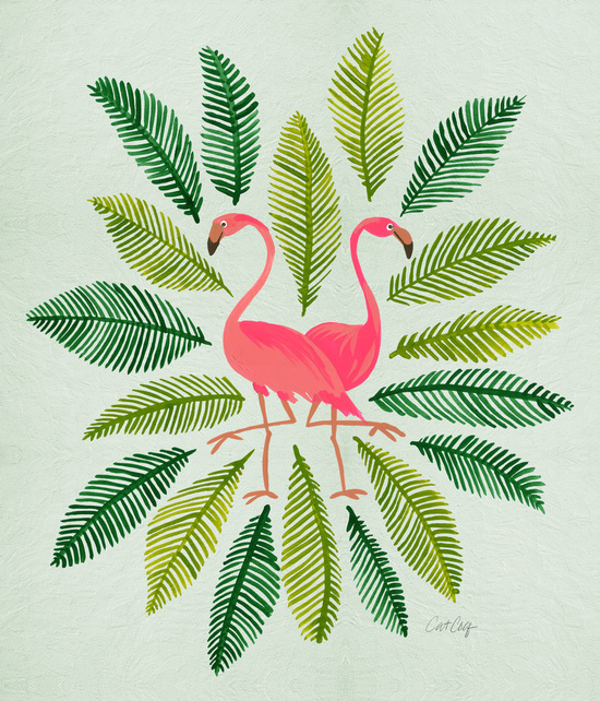 Flamingos available  here .