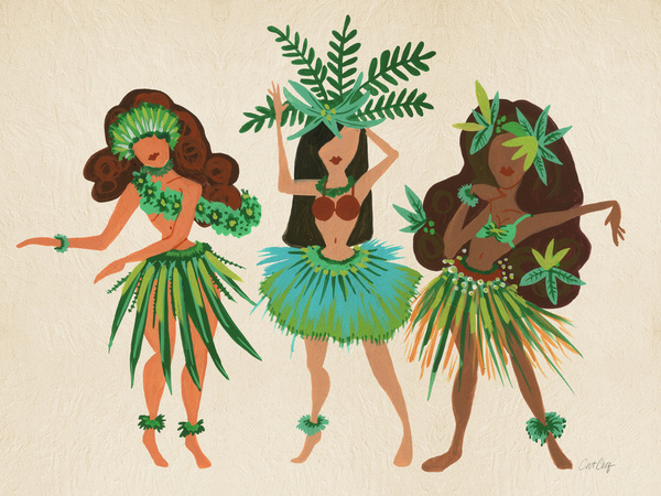 Luau Girls available  here .