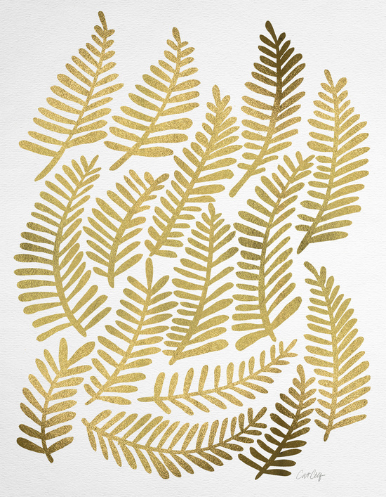 Gold Fronds available  here .