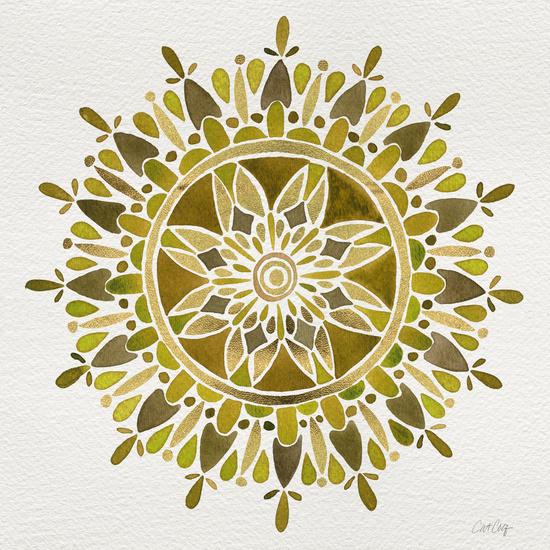 Gold Mandala available  here .
