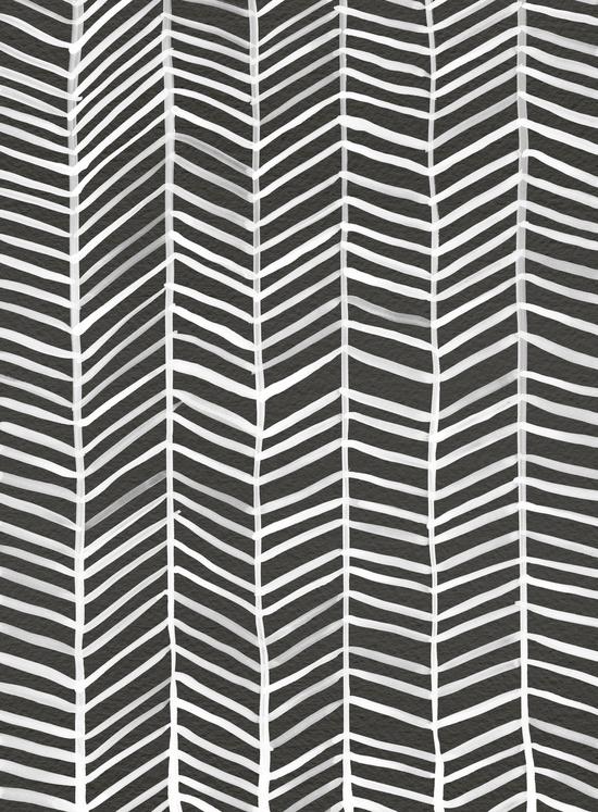 Herringbone – Black & White available  here .