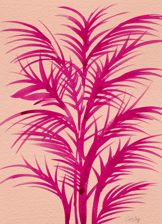 Pink Palms available  here .