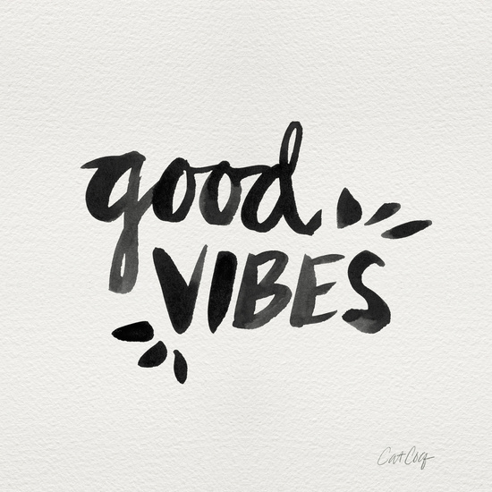 Good Vibes available  here .