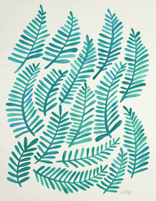Green Fronds available  here .