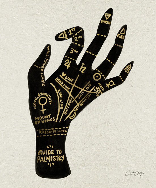 Palmistry available  here .