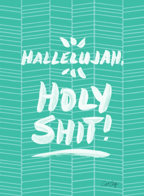 Holy Shit available  here .